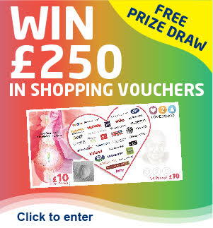 Win £250 Shopping Vouchers